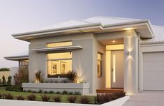 Best exterior paint colours for house rendered 44 Ideas Best Exterior Paint, Exterior Paint Colors For House, Paint Colors For Home, Exterior Design, Paint Colours, Modern Small House Design, House Front Design, Rendered Houses, Modern Bungalow House