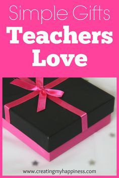 You don't have to have a PhD in crafting to get a great gift for your child's teacher. Check out these simple, craft-free gifts teachers love!