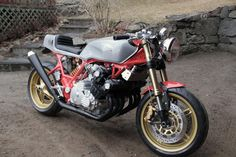 Nestors Honda CBX by Adams Custom Shop - found on Cafe Racer Culture