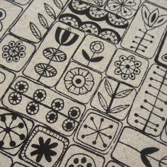 inspiration for embroidery==Looks like zen doodling...