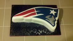 NFL New England patriots cake