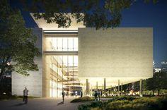 baixa_MTT_3D_CAIX_17_C4.jpg Museu do Trabalho e do Trabalhador. São Bernardo do Campo, SP, Brasil. Projeto: Escritório 'Brasil Arquitetura'.