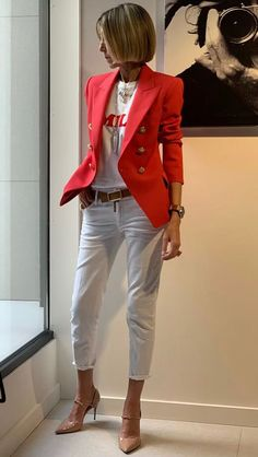 Just Style or 50 Fashion, Fashion Over 40, Work Fashion, Fashion Outfits, Womens Fashion, Luxury Fashion, Mode Outfits, Stylish Outfits, Fall Outfits