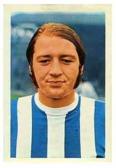 Frank Worthington of Huddersfield Town in Football Stickers, Football Cards, Huddersfield Town Fc, Frank Worthington, Taxidermy, Terriers, 1970s, Legends, Soccer