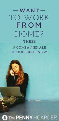 We just found five fun work-from-home jobs you should probably know about. These companies are hiring remote workers now -- will you apply? - /thepennyhoarder/