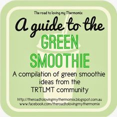 The road to loving my Thermomix: A guide to the Green Smoothie- loads of good gr… – Imogene Hintz - Detox Recipes Green Goddess Smoothie, Green Detox Smoothie, Healthy Green Smoothies, Detox Smoothie Recipes, Detox Recipes, Detox Foods, Pea Protein Powder, Fruit Infused Water, Healthy Family Meals