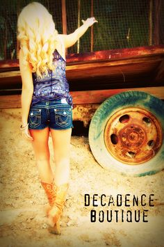 DECADENCE BOUTIQUE SPRING PHOTO SHOOT  L.A. IDOL JEANS & MISS ME JEANS