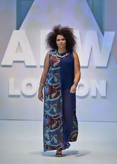 Check Out the Big, Bold & Fabulous Showcase from Plus-Size Label Dear Curves at AFWL 2014 African Fashion Designers, African Inspired Fashion, African Print Fashion, Africa Fashion, African Fashion Dresses, African Attire, African Wear, African Dress, African Prints