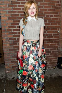 Young Hollywood Turned It Out at NYFW--See All Their Prettiest Front-Row Looks | Teen Vogue