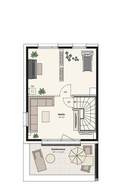 Doppelhaus Sinus | INTERHOMES AG Planer, Bungalow, House Plans, Floor Plans, How To Plan, Country, Home Decor, Arquitetura, Interiors