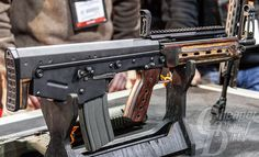 Kel-Tec's new bullpup—the M43—from #SHOTShow 2014. But will we ever actually get our hands on one? #firearms
