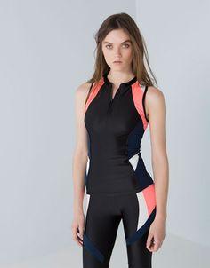 Bershka México -Bershka -Bershka -Camisetas Trendy Summer Outfits, Sporty Outfits, Workout Attire, Workout Wear, Lycra Leggings, Moda Fitness, Fashion Sewing, Sport Wear, Sport Fashion