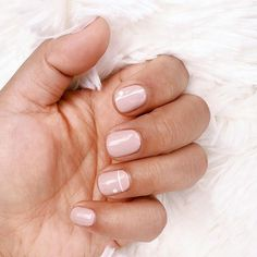 wishing you the sweetest of dreams #oliveyourmani @lanavhansen nails: @rieko0102 color match: @cndworld winter glow
