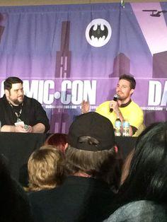 Stephen Amell at Dallas Comic Con 2015