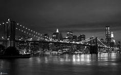 Resultado de imagen para new york de noche puente