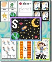 S is for space ...from lots of sites