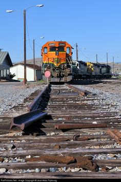 RailPictures.Net Photo: BNSF 2340 BNSF Railway EMD GP38-2 at Butte, Montana by Jean-Marc Frybourg