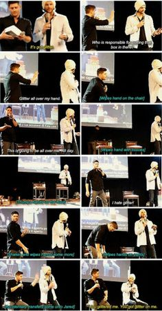HAA HAA JENSEN KILLED EDWARD AND WIPING THE EVIDENCE ALL OVER THE STAGE AND JARED