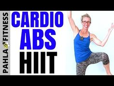 All STANDING No Jumping Cardio ABS HIIT | 15 Minute Flat Belly Home Workout without Equipment - YouTube