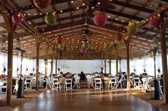 Fun and simple barn wedding decorations