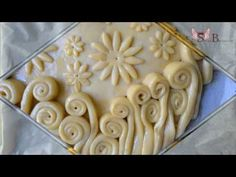 """Пирог """"Цветочная полянка"""" (видео + рецепт)"""