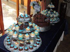 Wedding cake.. Cupcakes