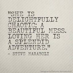 My husband will someday say this about me ;). I know my friends do ;)