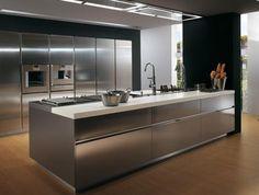 Moderne Design Der Küche Insel Inneren Ideen