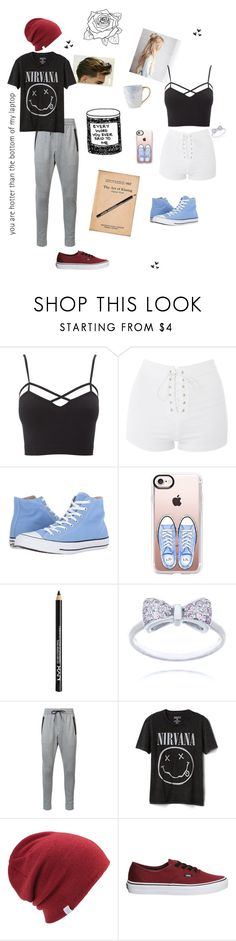 """""""Watch me speak from my heart when it comes to you...."""" by mystical-dimples ❤ liked on Polyvore featuring Charlotte Russe, Topshop, Converse, Casetify, NYX, Zanerobe, Gap, Coal, Vans and plus size clothing"""