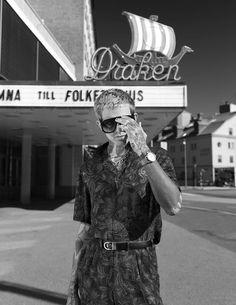 Man about town: Simon Rah en fotos de Anna Osk Erlingsdottir para Male Fashion Trends - Male Fashion Trends