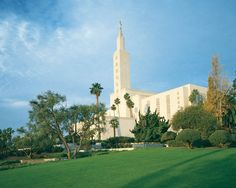 Mormon Temple Los Angeles California