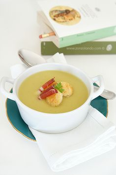 Vellutata di porri e patate - Leek and potato soup