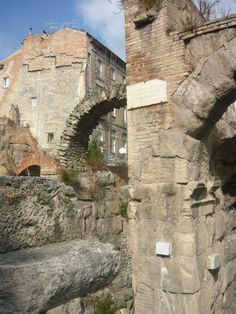 Teatro Romano (particolare)