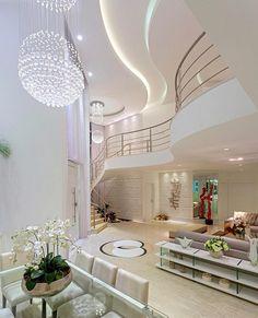 Porque o pé direito aliado a uma iluminação planejada deixaram o espaço simplesmente encantador. Amei! @pontodecor Via @maisdecor_ www.homeidea.com.br Face: /homeidea Pinterest: Home Idea #homeidea #olioliteam #arquitetura #ambiente #archdecor #archdesign #projeto #homestyle #home #homedecor #pontodecor #homedesign #photooftheday #love #interiordesign #interiores #cute #picoftheday #decoration #revestimento #decoracao #architecture #archdaily #inspiration #project #regram #home #casa…