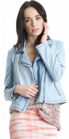 Element Bloom Jacket in Light Blue - Urban Laundry (urbanlaundry.com)