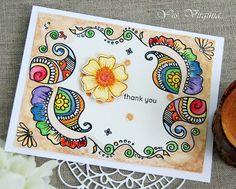 Yes, Virginia...: Henna Patterns-Take 2