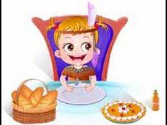 Bebê Hazel no Dia de Ação de Graças - http://jogosdabebehazel.com.br/jogos/bebe-hazel-no-dia-de-acao-de-gracas/ #AçãoDeGraças, #BebêHazel Jogos de Festa