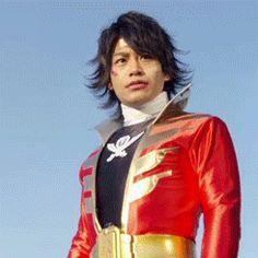 Gokai-red! Captain Marvelous! :D (KiRaidesu: Seriously almost scream out XD).