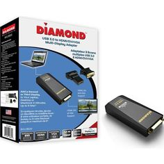 Diamond DisplayLink DL-3500 BVU3500 External Video Adapter