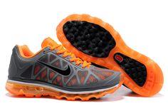Air Max 2011 Men Grey Orange Black