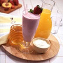 Strawberry Kiwi Smoothie - Honey is the secret natural ingredient to enhancing the sweet flavor of fruits.