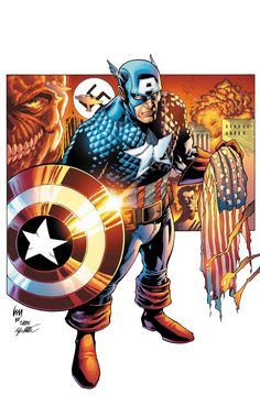 Stands for America colored by wrathofkhan