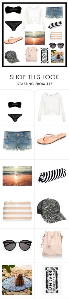 """SEE YOU AGAIN"" by bb-rodrigues on Polyvore featuring moda, Lisa Marie Fernandez, Victoria's Secret, True Religion, Tkees, The Beach People, Vera Bradley, Billabong, Yves Saint Laurent e Sophie Hulme"
