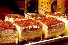 Retete Culinare - Prajitura EUGENIA Romanian Desserts, Romanian Food, Romanian Recipes, Food Cakes, Cupcake Cakes, Cupcakes, Sweets Recipes, Cookie Recipes, Sweet Cakes