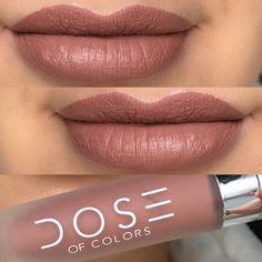 Truffle Matte Liquid Lipstick by @doseofcolors