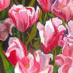A personal favorite from my Etsy shop https://www.etsy.com/listing/232053766/morning-tulips-fine-art-oil-painting