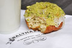 Best Topping – Balthazar Bakery's Pistachio Doughnut