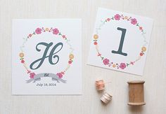 65 FREE Wedding Printables for the DIY Lovers! | Bespoke-Bride: Wedding Blog