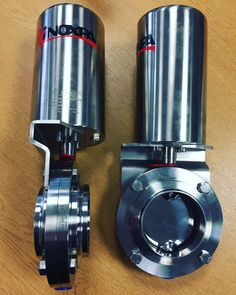 Inoxpa 4800 Hygienic Butterfly Valves with Pneumatic Actuator http://www.valvesonline.co.uk/inoxpa-4800-butterfly-valve-pneumatic-actuator.html #inoxpa #butterflyvalves #butterflyvalve #valves #actuator #pneumaticactuator #hygienic #dairy #dairyvalves #hygienicvalve #hygienicvalves #hygienicbutterflyvalve #actuated #pharmaceutical #foodprocessing #cip #beverage #engineering #inoxpavalves #sanitaryvalves #aisi316l