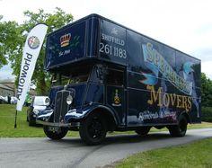 Renishaw Hall Show 2013 - Retro Update Cool Trucks, Big Trucks, Classic Trucks, Classic Cars, Old Lorries, Semi Trailer, Moving And Storage, Heavy Machinery, Commercial Vehicle